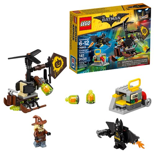 LEGO Batman Movie 70913 Scarecrow Fearful Face-off