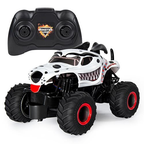 Monster Jam Monster Mutt Dalmatian 1:24 Scale Remote Control Monster Truck