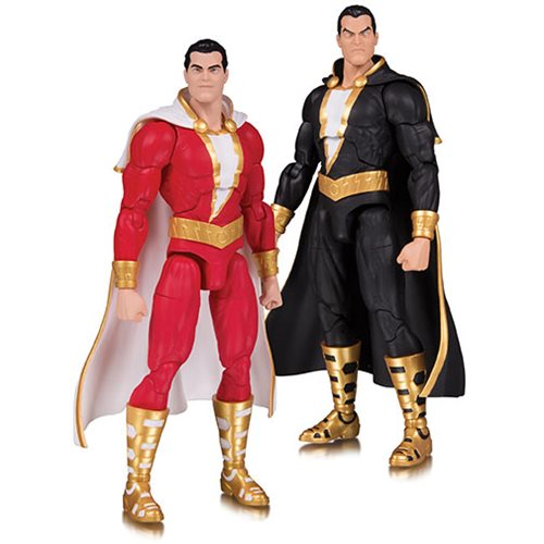 DC Essentials Shazam and Black Adam Action Figure 2-Pack