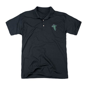Lord of the Rings Embroidered Leaf Patch Polo T-Shirt