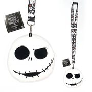 Jack Skellington Deluxe Lanyard with Card Holder