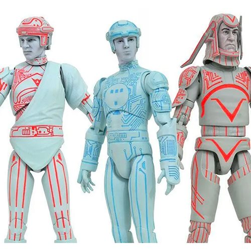 Tron Select Series 1 Action Figure Set