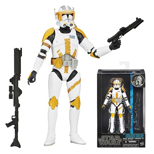 Star Wars The Black Series Clone Commander Cody 6-Inch Action Figure