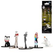 Nightmare Before Christmas Nano Metalfigs Die-Cast Metal Mini-Figure 5-Pack