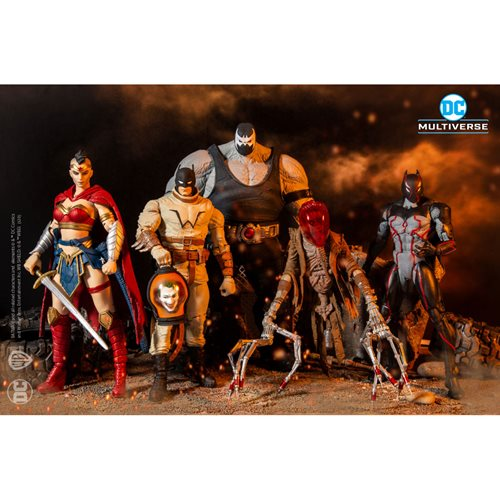 DC Multiverse Collector Wave 3 Last Knight on Earth Action Figure Case