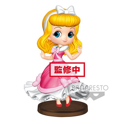 Cinderella Pink Gown Q Posket Petit Statue
