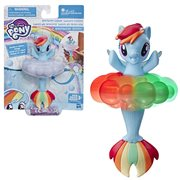 My Little Pony Toy Rainbow Lights Fluttershy Floating Water-Play Seapony Figure