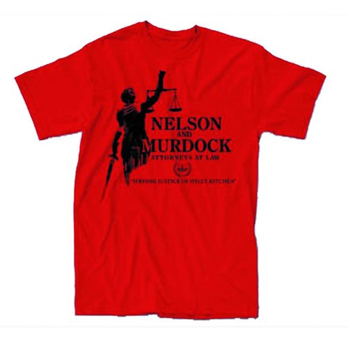Daredevil Nelson and Murdock T-Shirt - Previews Exclusive
