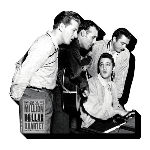 Million Dollar Quartet Magnet