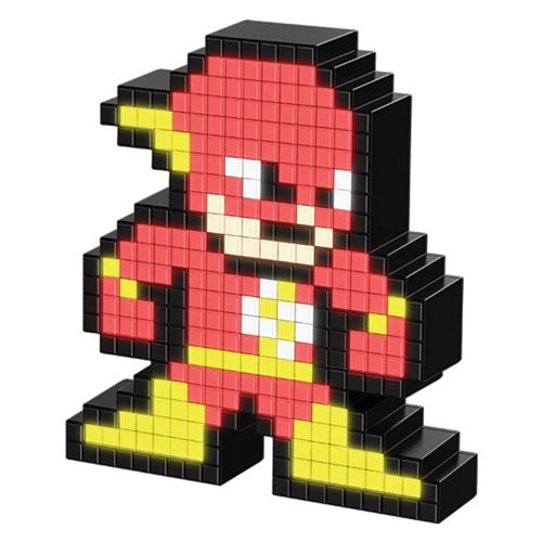 Pixel Pals The Flash Collectible Lighted Figure
