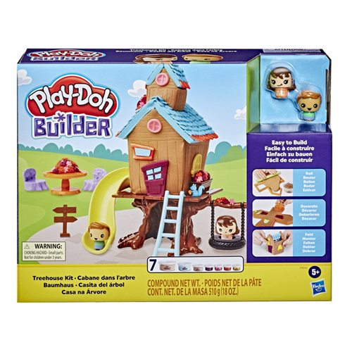 Play-Doh Builder Treehouse Toy Building Kit