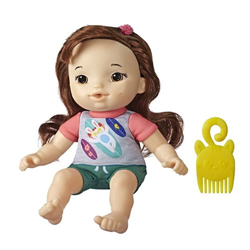 Baby Alive Littles Squad Little Maya with Brown Hair Doll