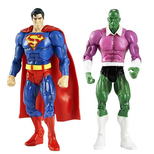 DC Universe Classics Figures Superman vs. Brainiac 2-Pack