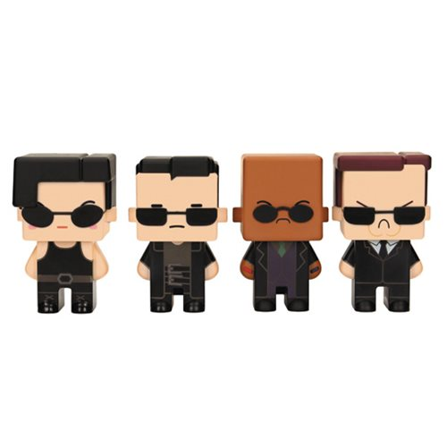 The Matrix Pixel Figure 4-Pack #6