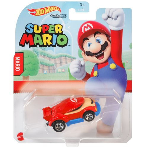 Hot Wheels Nintendo Character Cars 2021 Mix 1