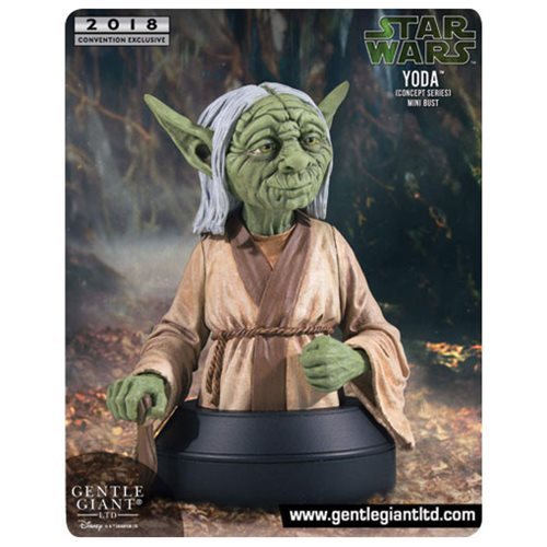 Star Wars Yoda Concept Series Mini Bust - Exclusive