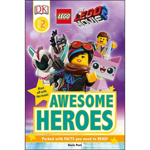 The LEGO Movie 2 Awesome Heroes DK Readers 2 Hardcover Book