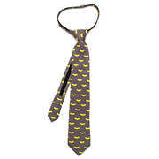 Batman Dark Knight Boys Zipper Silk Tie