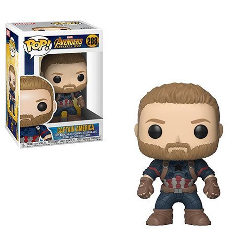 Avengers: Infinity War Captain America Pop! Vinyl Figure, Not Mint