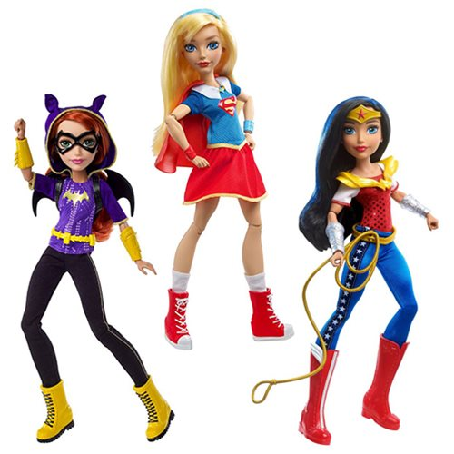 DC Super Hero Girls Action Doll Core Case