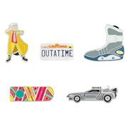 Back to the Future Pin 5-Pack Set
