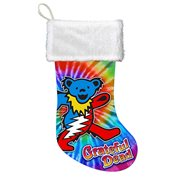 Grateful Dead Bear 19-Inch Print Stocking