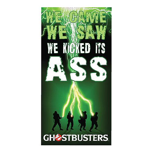 Ghostbusters We Came, We Saw, We Kicked Its Ass Beach / Bath Towel