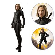 Avengers: Infinity War Black Widow and Tamashii Effect Explosion SH Figuarts Action Figure