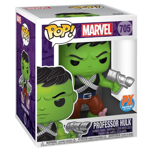 Marvel Heroes Professor Hulk 6-Inch Pop! Vinyl Figure and The Immortal Hulk #39 Variant Comic - Prev