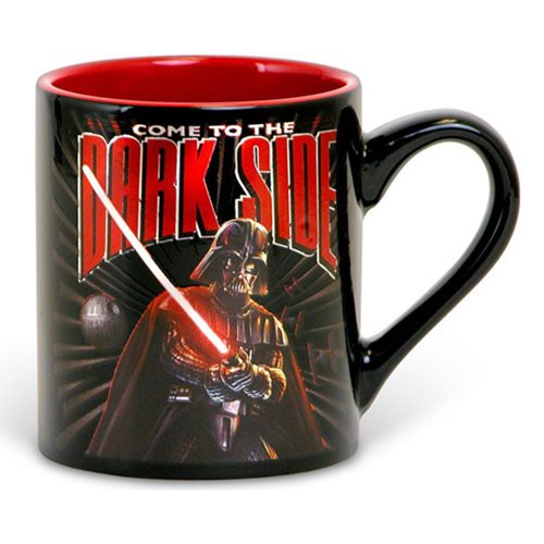 Star Wars Dark Side 14 oz. Ceramic Laser Print Mug