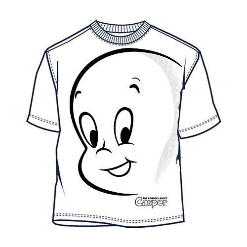 Casper the Friendly Ghost Face T-Shirt