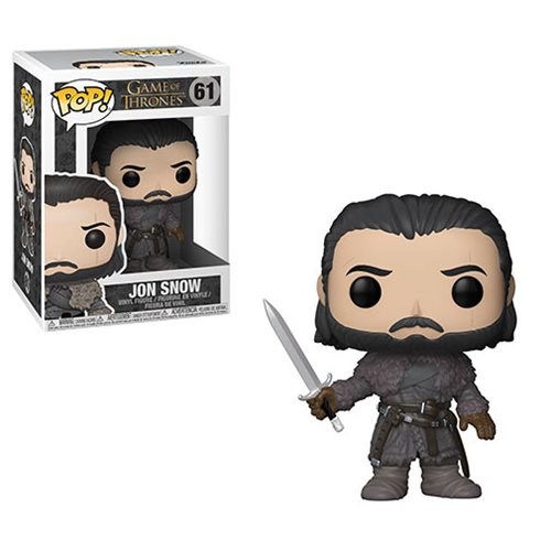Game of Thrones Jon Snow Beyond the Wall Pop! Vinyl Figure, Not Mint