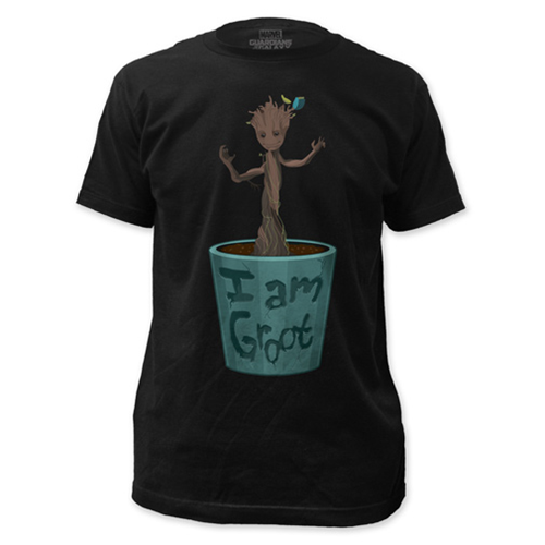 Guardians of the Galaxy Baby Dancing Groot Black T-Shirt
