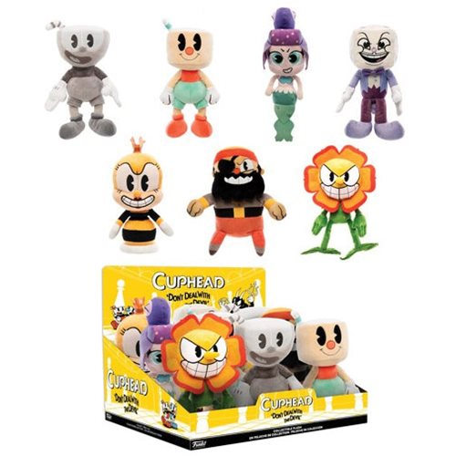 Cuphead Supercute Plush Display Case