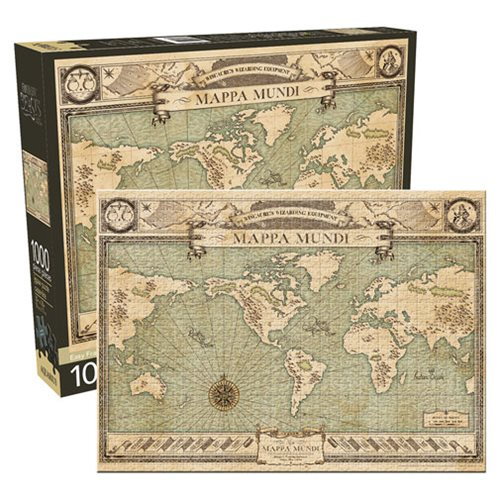 Fantastic Beasts and Where to Find Them Map 1,000-Piece Puzzle
