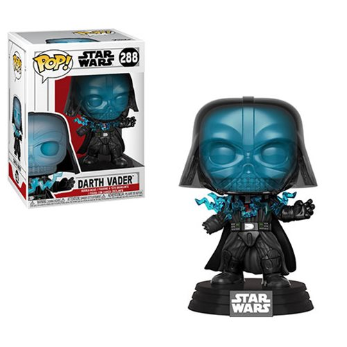 Star Wars Electrocuted Darth Vader Pop! Vinyl Figure #288