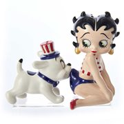Betty Boop and Pudgy USA Salt and Pepper Shakers, Not Mint