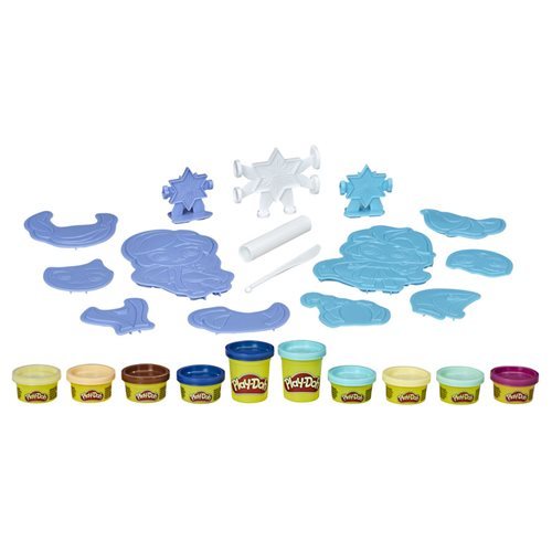Frozen 2 Play-Doh Create 'n Style Set Anna and Elsa