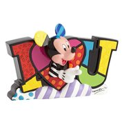 Disney Mickey Mouse Love Statue by Romero Britto