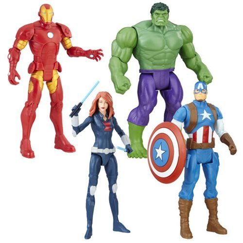 Avengers 6-Inch Action Figures Wave 1 Revision 1 Case