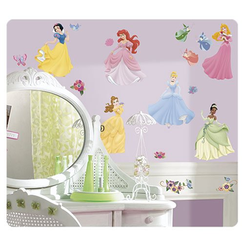 Disney Princesses Wall Decals with Gems