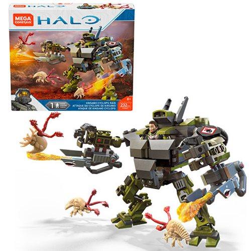 Halo Mega Construx Kinsano Cyclops Raid Playset