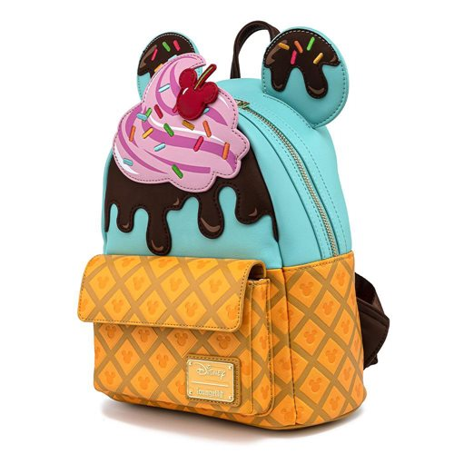 Mickey and Minnie Mouse Sweets Ice Cream Mini-Backpack