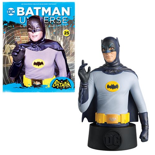 Batman Universe Batman 1966 Bust with Collector Magazine #25