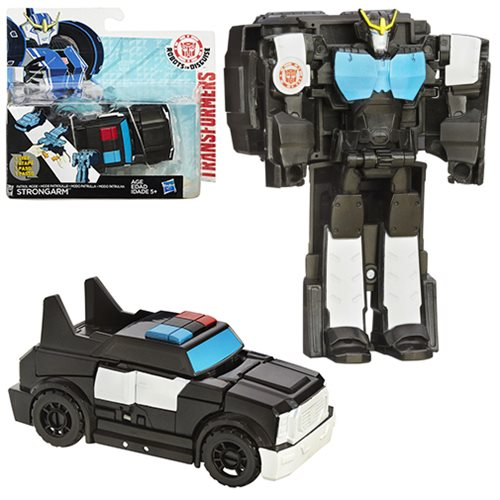 Transformers Robots in Disguise One-Step Changers Patrol Mode Strongarm