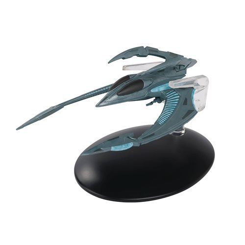 Star Trek Starships Xindi Insectoid Fighter Ship with Collector Magazine