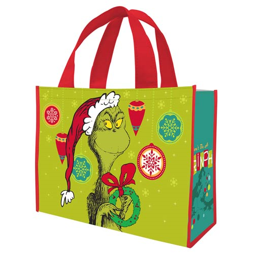 Dr. Seuss Don't Be a Grinch Christmas Large Shopper Tote