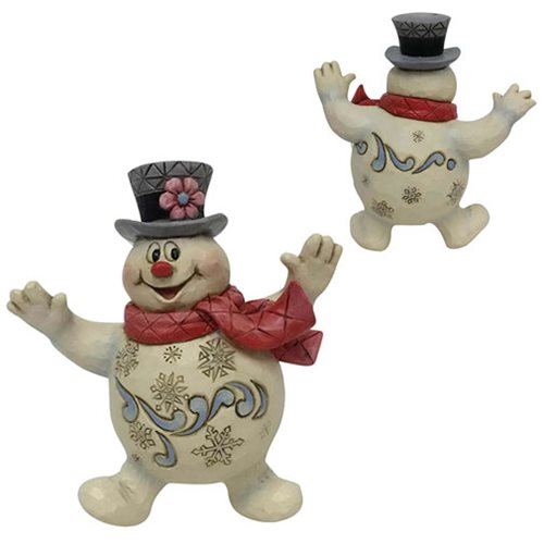 Frosty the Snowman Jolly Frosty Ornament by Jim Shore