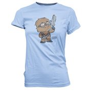 Star Wars Solo Chewie Standing Proud Super Cute Juniors T-Shirt