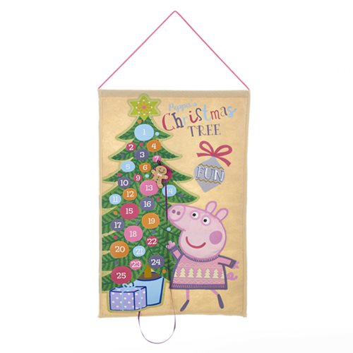 Peppa Pig 19-Inch Advent Calendar